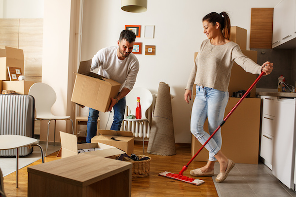 Move In & Move Out Cleaning Services :